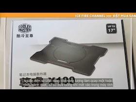Đế tản nhiệt Cooler Master X100 - Hàng chính hãng