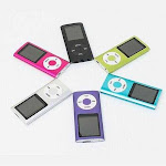 Portable Mp3 Music Player and FM Radio And More - Color: Purple
