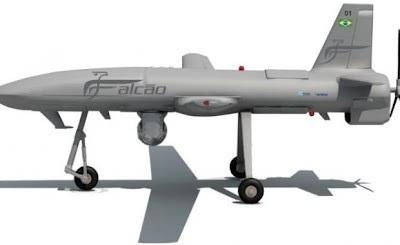 VANT Falcão El primero VANT militar brasileño deberá volar en 2014