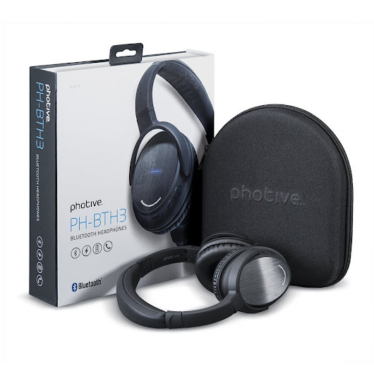 Deal: Photive BTH3 Bluetooth Headphones - $39.95 | Androidheadlines.com