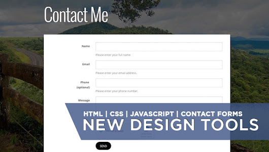 New Contact Forms and Advanced Website Customisation Tools - Fotomerchant