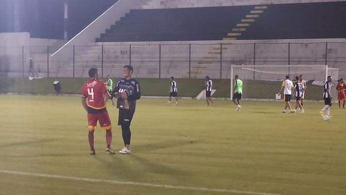 ABC e Globo FC - Frasqueirão (Foto: Canindé Pereira/Divulgação)