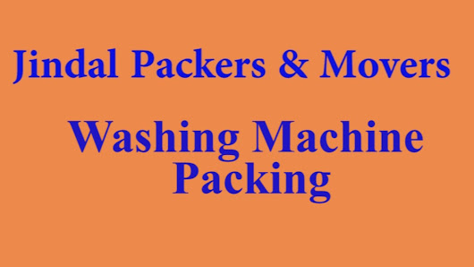 Washing Machine Packing