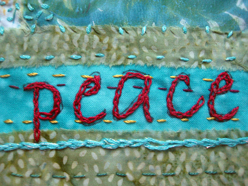 flag #9 ~ Peace detail