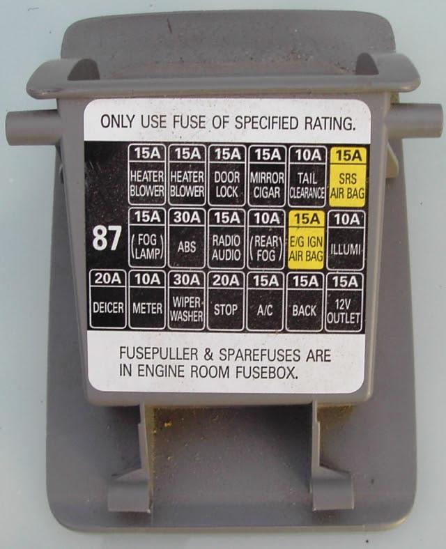 2000 Subaru Forester Fuse Box Smart Plug Wiring Bege Wiring Diagram