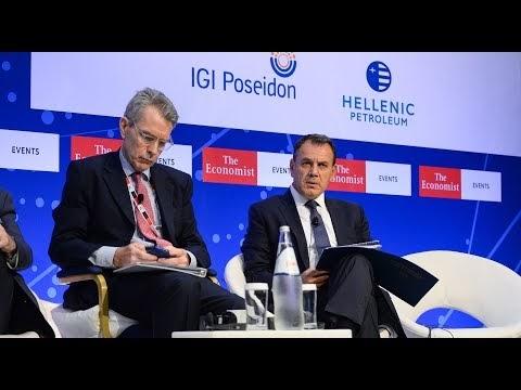 Ο ΥΕΘΑ Νίκος Παναγιωτόπουλος στο Συνέδριο του ECONOMIST