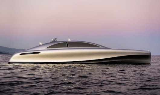 An AirPlane and Yacht Combo for VIPs - Designed By Mercedes-Benz - Official Club Sportiva Blog