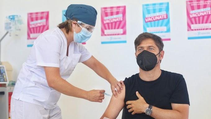 Provincia de Buenos Aires comenzará a vacunar a los docentes desde la semana próxima