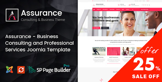 Assurance - Business Consulting and Professional Services Joomla Template