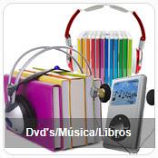 dvd musica libros