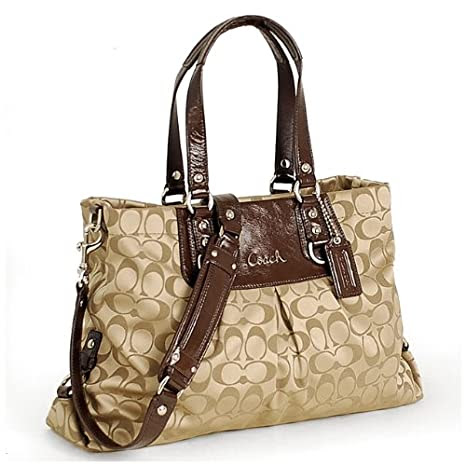 Coach Ashley Signature Carryall