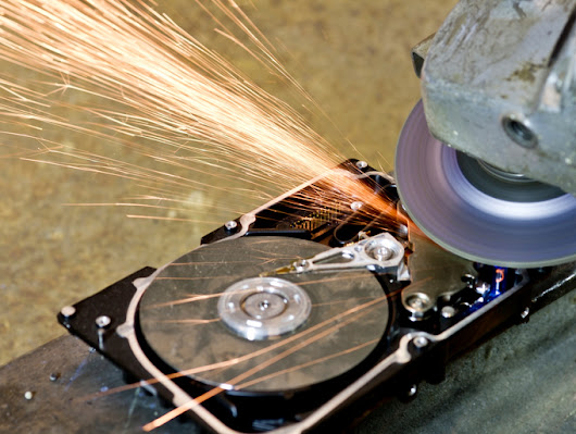 Why Hard Drive Destruction Is Essential To Protect You Against Fraud