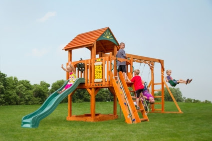 Playsets Provide a Summer Full of Backyard Fun