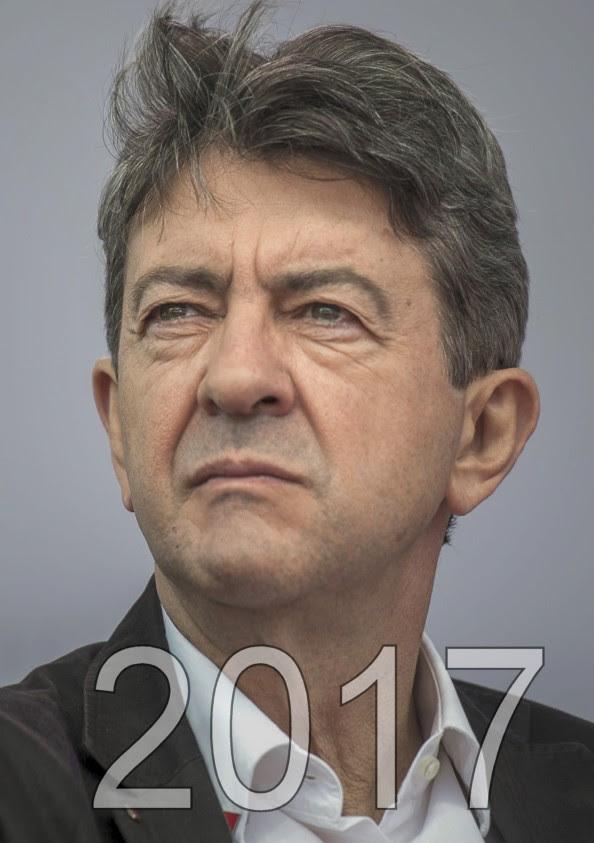 Jean Luc Melenchon éléction présidentielle 2017, candidat