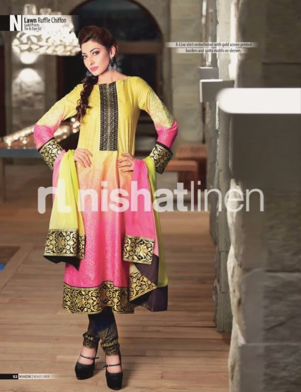 Nishat-Linen-Eid-Dress-Collection-2013-Pret-Ready-to-Wear -Lawn-Ruffle-Chiffon-for-Girls-Womens-5