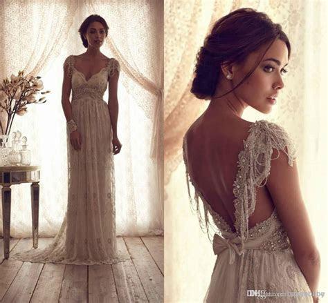 Cheap Wholesale 2014 Hot Sell Vintage Sheer Wedding