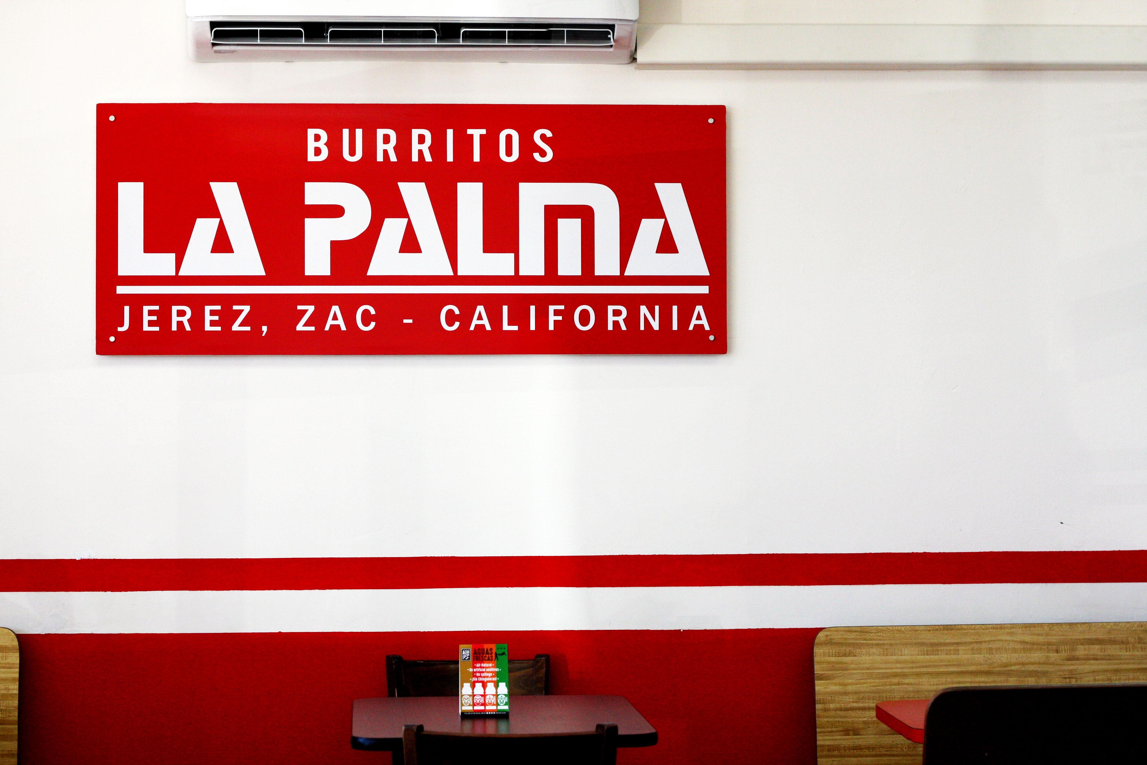 La Palma Burritos Santa Ana