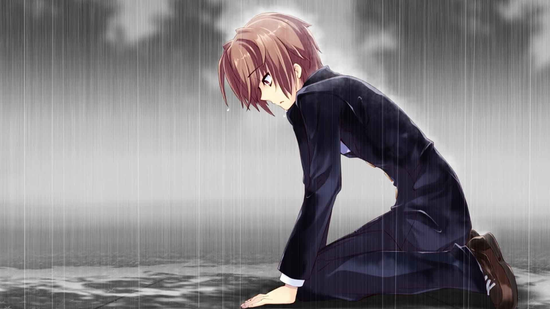 Sad Anime Boy Wallpapers (67+ background pictures)