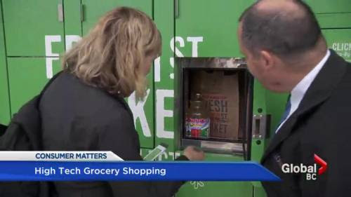 B.C. grocer makes shopping possible via smartphones | Watch News Videos Online