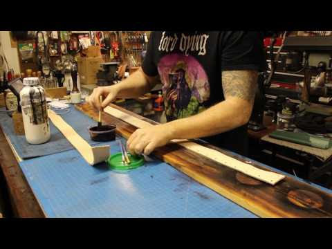 Guitar Strap Process Build With Bongzilla As The Soundtrack