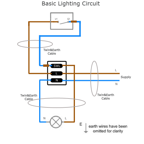Wiring Diagram For Lamp : Modern house wiring diagram uk home and