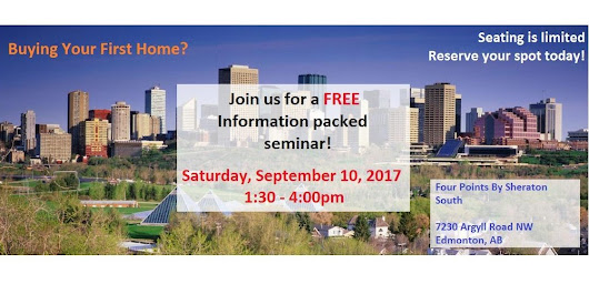 First Time Home Buyer Seminar Edmonton