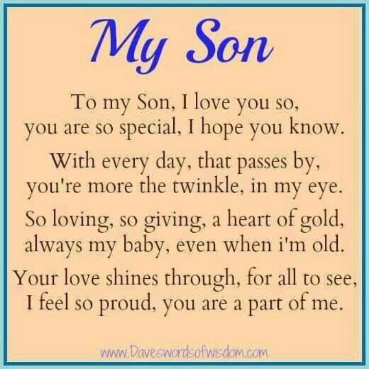 Quotes About Eldest Son 30 Quotes