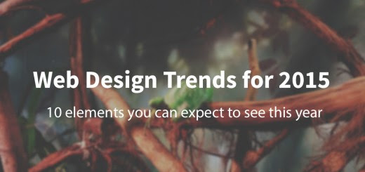 10 Web design trends you can expect to see in 2015