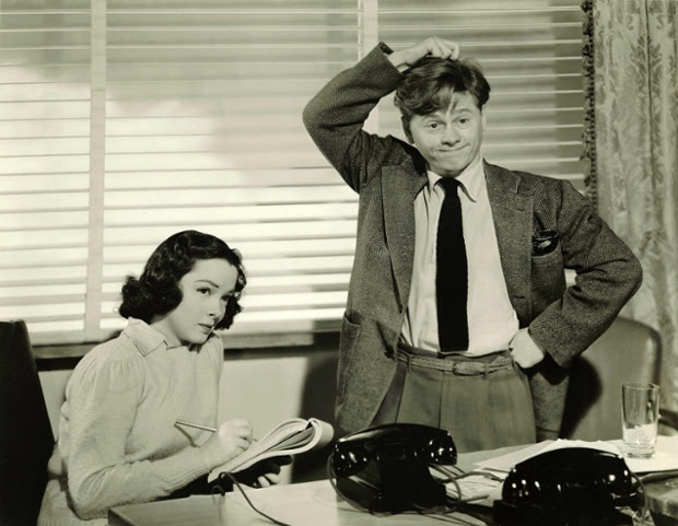 Mickey Rooney and Kathryn Grayson