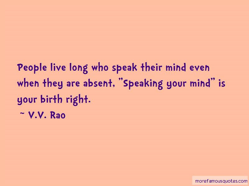 Quotes About Speaking Your Mind Top 41 Speaking Your Mind Quotes