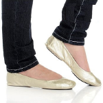 CitySlips Foldable Ballet Slippers - Shoes
