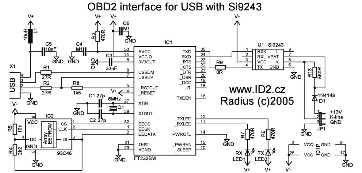 usb cable wiring scheme