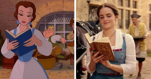"Here's How The New ""Beauty And The Beast"" Compares To The Animated Version"