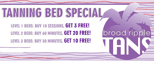 Broad Ripple Tans Offers Student Discounts and VIP Tanning Packages!