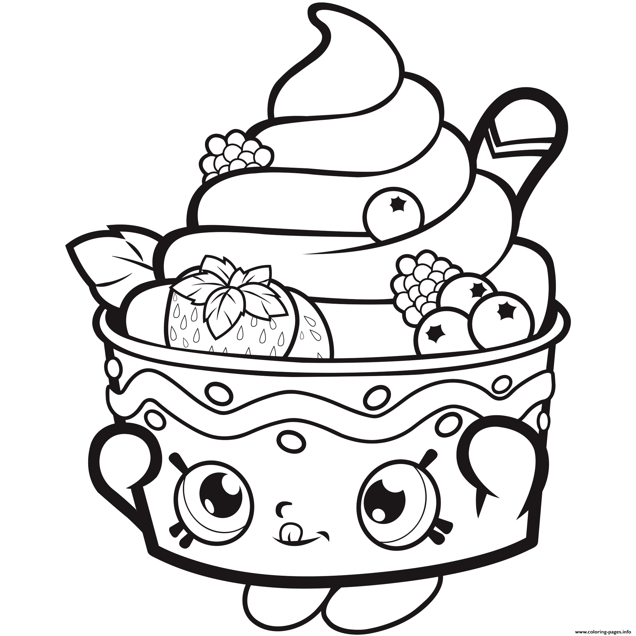 Beautiful Ice Cream Coloring Pages For Adults Anyoneforanyateam