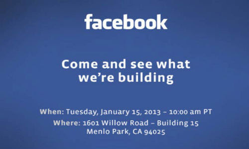 Facebook Press Event on January 15: What to Expect?