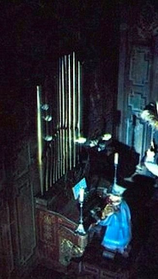 Haunted Mansion Foyer Organ : Long forgotten let s get real