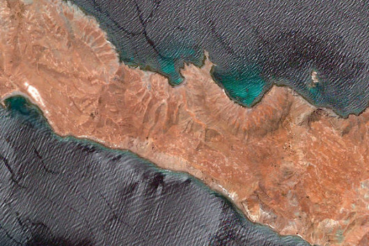 Baja California, Mexico – Earth View from Google