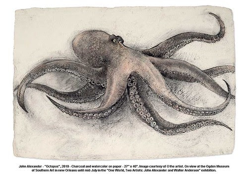 "John Alexander - ""Octopus"", 2010 by artimageslibrary"