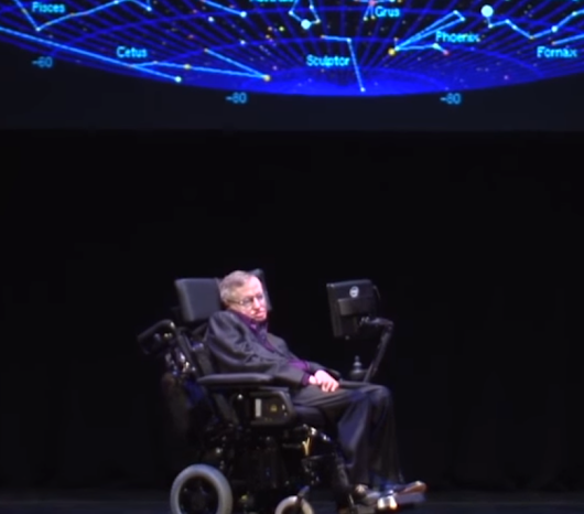 Stephen Hawking's last Seattle lecture highlighted branes — and his brain – GeekWire