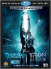 Tron: Legacy 3D/Tron [5 Discs] [Includes Digital Copy] [3D/2D] [Blu-ray/DVD] -