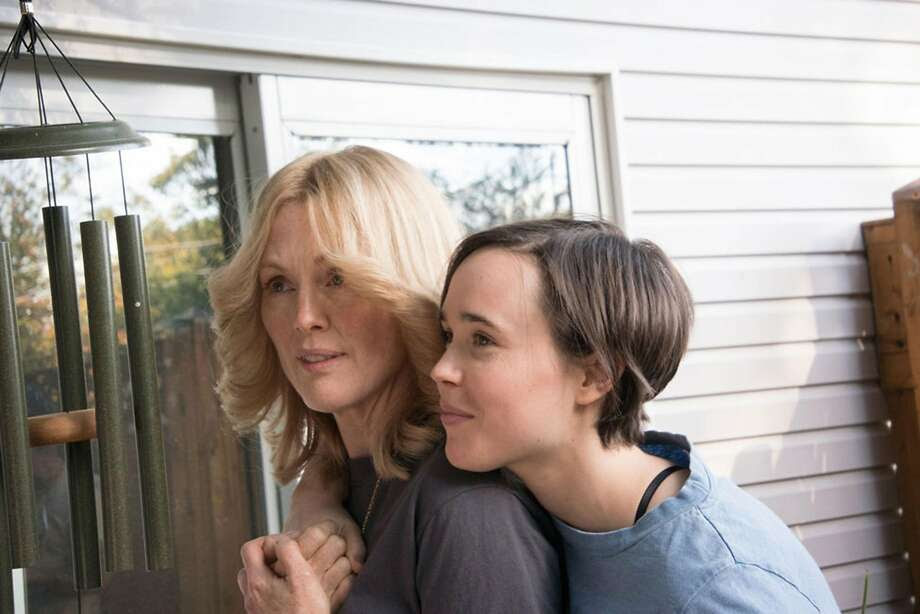 "Julianne Moore and Ellen Page in ""Freeheld."" (Summit Entertainment, LLC) Photo: Phillip V. Caruso/Summit, McClatchy-Tribune News Service"