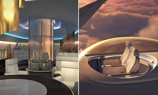 There could soon be a glass seating area ON TOP of jets