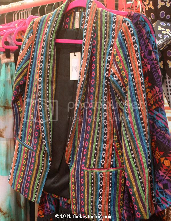 Gypsy Junkies printed blazer