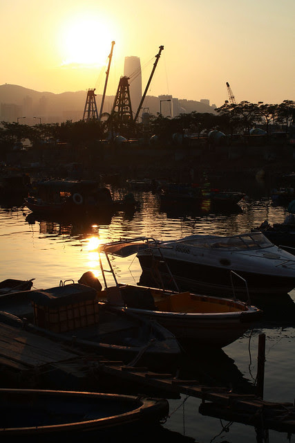 Lei Yue Mun Seafood and Sunset at Beach Hong Kong