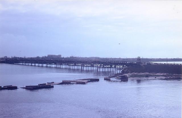 Bridge in Da Nang, not too far from troubled waters