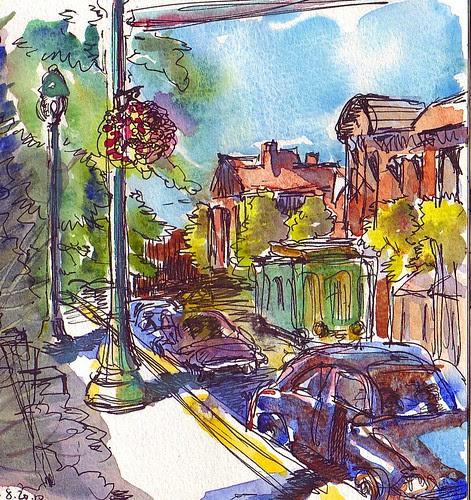 Broadway, Saratoga Springs, NY
