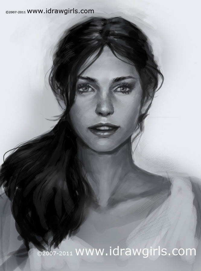 learn digital painting portrait