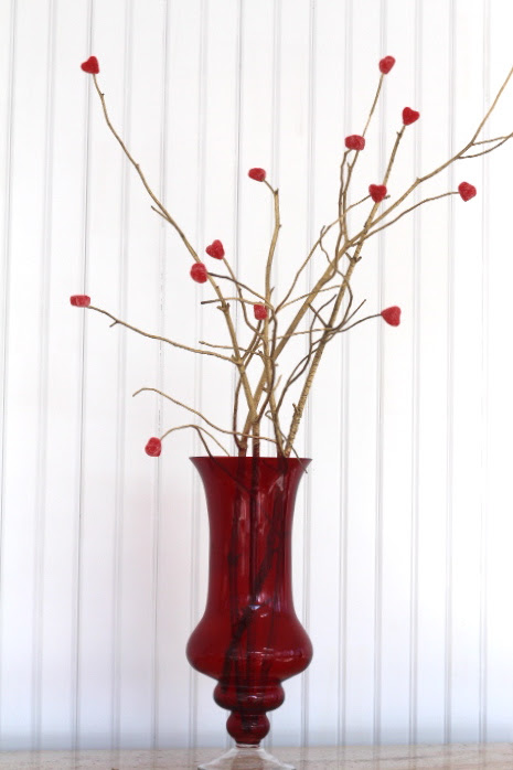 Easy Valentine Decor by LuckyScarf