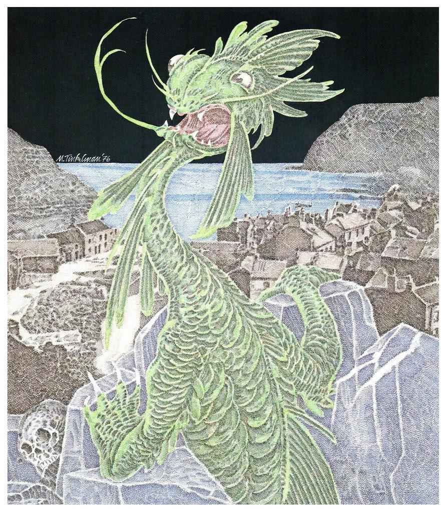 Murray Tinkelman - H.P Lovecraft Illustration 2